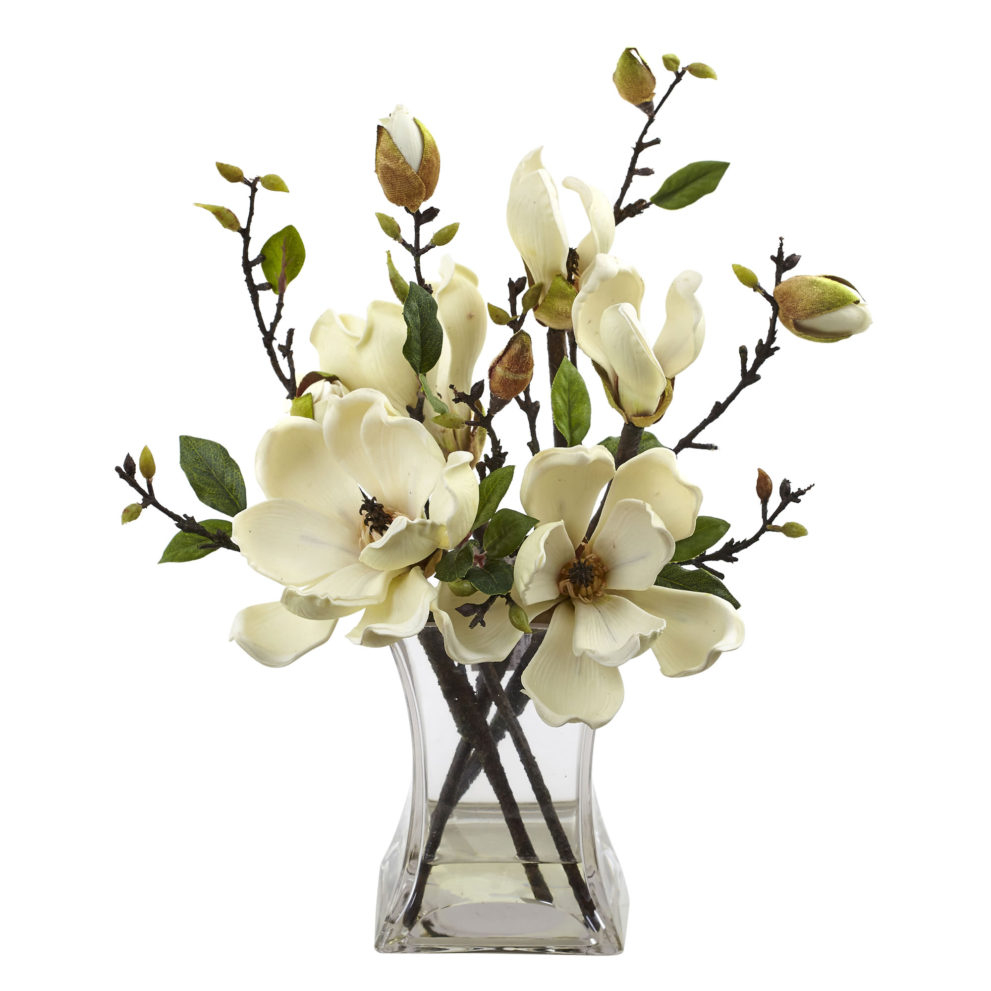 White flower arrangement pictures