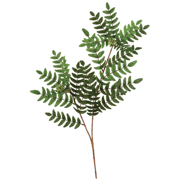 27 Quot Ifr Artificial Acacia Leaf Branch Stem Green Tree