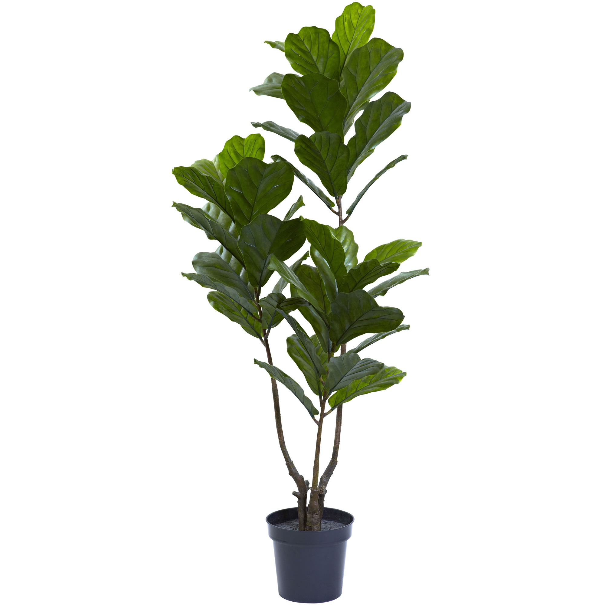 5 5 Quot Uv Resistant Outdoor Artificial Fiddle Leaf Tree W