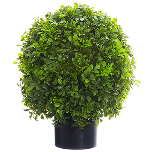 1 4 Quot Boxwood Ball Shaped Artificial Topiary Tree W Pot