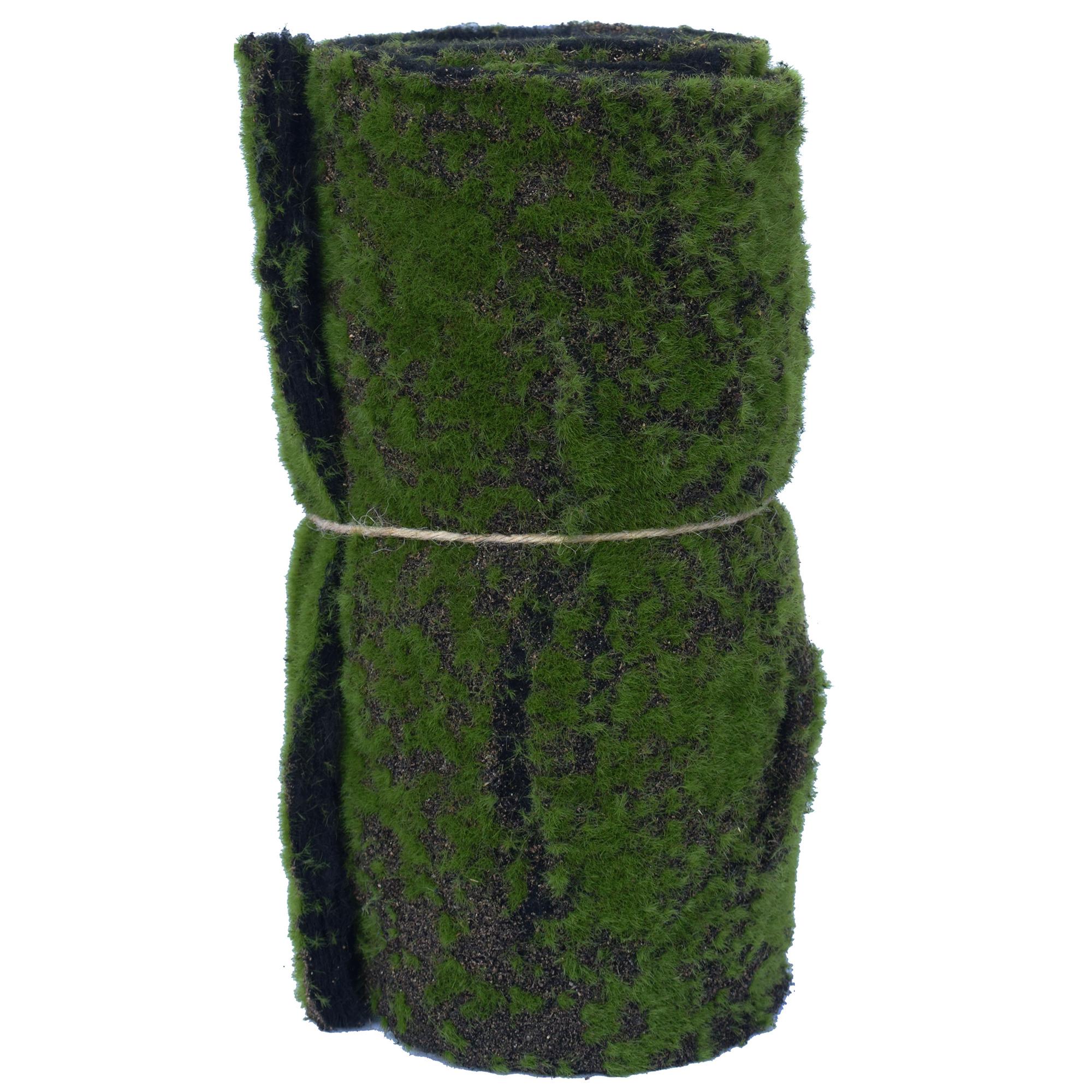 """78""""x11.5"""" Artificial Living Wall Moss Mat -Green"""