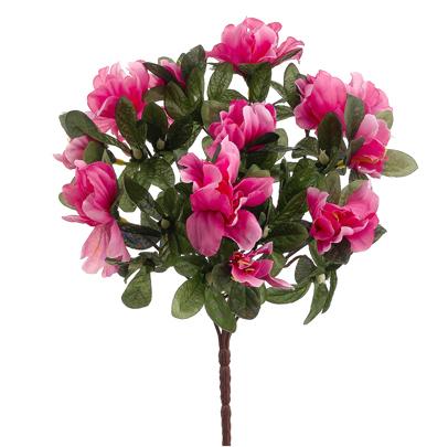 13 Quot Silk Azalea Flower Bush Hot Pink Azalea Flowers