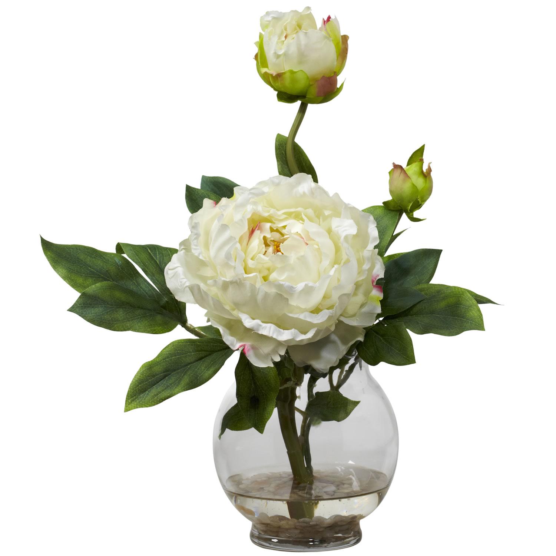 Надписями картинками, картинки белые пионы в стеклянной вазе