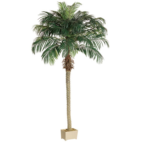 8 Phoenix Artificial Palm Tree W Container Phoenix Palm
