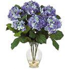 Silk Hydrangea Flower Arrangements