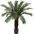 Sago Cycas Palm Artificial Silk Trees