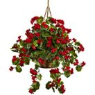 Silk Hanging Basket Plants