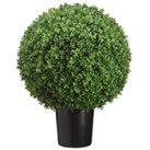 Ball-Shaped Artificial Topiary