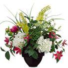Mixed Artificial Flower Centerpieces
